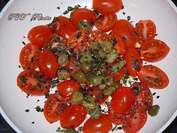 Trofie con pomodorini e rucola 1