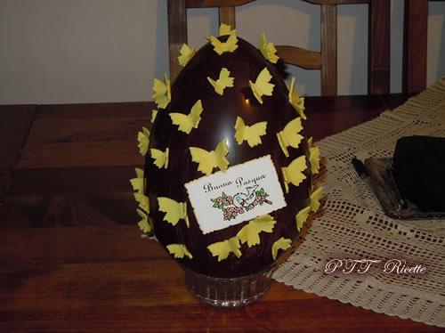 Uova di Pasqua senza temperaggio