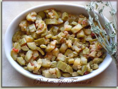 Zucchine al funghetto 2
