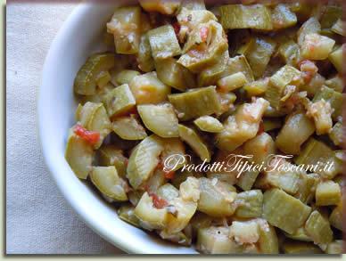 Zucchine al funghetto