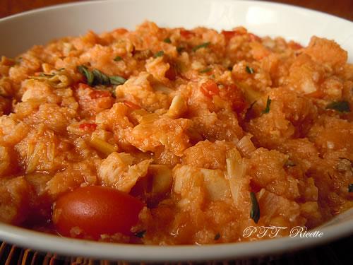 Zuppa con merluzzo e pomodorini 2