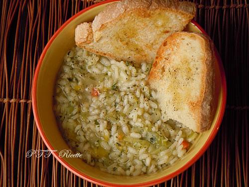 Zuppa di porri 1